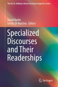 Couverture de l'ouvrage Specialized discourses and their readerships