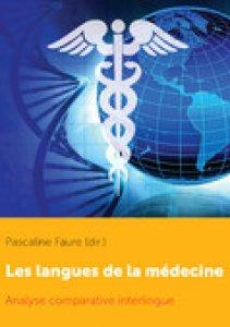 Couverture, book cover les langues de la médecine